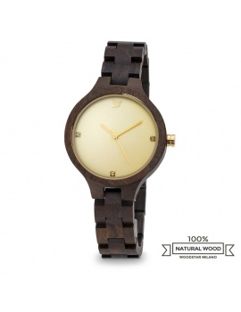 Woodstar Milano mod. Juma - Natural wooden watch
