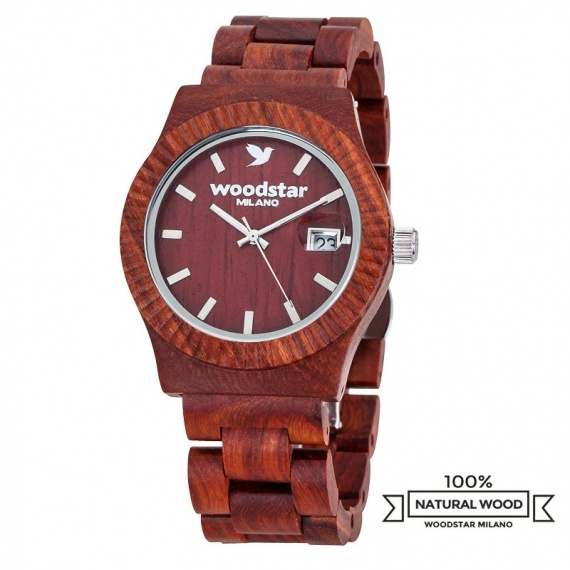 Woodstar Milano mod. Murui - Natural wooden watch