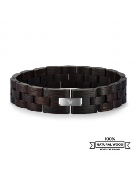 Black Turtle - Wooden bracelet