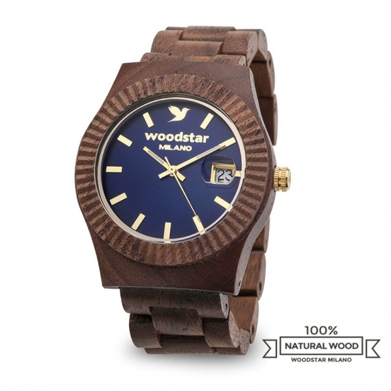 Mura - Natural wood watch