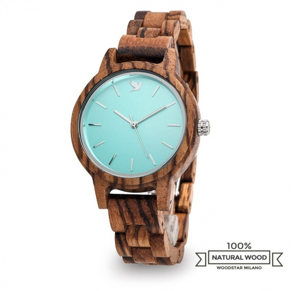 Makuna - Natural wood watch